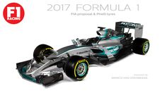 Here's What F1 Cars Could Look Like In 2017 - Who's the Fastest?