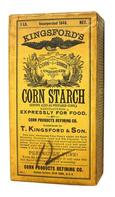 """Brands Kingsford's Corn Starch, Vintage Packaging How to Shop For Designer Suits """"Two thousand dolla Retro Packaging, Brand Packaging, Packaging Design, Branding Design, Milk Packaging, Vintage Tins, Vintage Labels, Vintage Posters, Retro Vintage"""