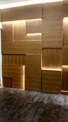 Wooden Partition Design, Wall Panel Design, Feature Wall Design, Stair Lighting, Corridor Lighting, Hallway Decorating, Interior Decorating, Interior Design Living Room, Bedroom Bed Design