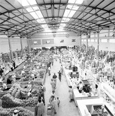 Mercado Municipal - Caracas 1950s  Cortesía Fundación Fotografía Urbana