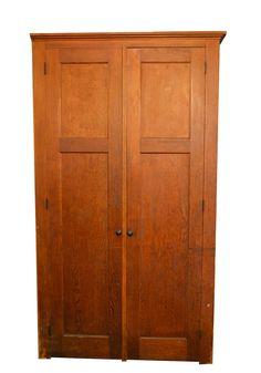 Fir School Cabinet