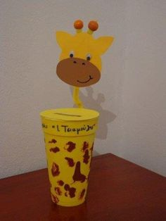 Kindergarten Crafts, Preschool Activities, Work With Animals, Animals And Pets, Diy And Crafts, Crafts For Kids, Arts And Crafts, Cup Art, Autumn Crafts