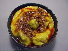 Punjabi Kadhi Pakode-wali..to me this does not look too appealing but when I look at the recipe it sounds delish..I shall have to try it..