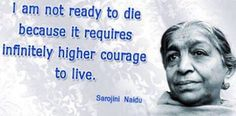 "Tributes to ""The nightingale of India"" #SarojiniNaidu ji on her death anniversary. She was a great activist, poet and politician. She is an inspiration! #Inspiration"