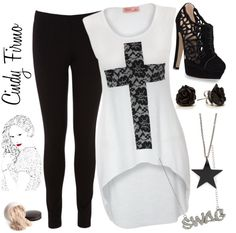 """Party"" by cindy-salvatore ❤ liked on Polyvore"