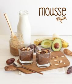 Mousse vegan   Raw vegan Mousse - Made by Choices