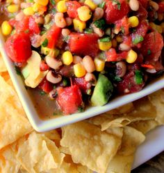 Easy Entertaining Recipe: Summer Cowboy Caviar with Hunt's Diced Tomatoes #HuntsFreshTwists #ad #CollectiveBias
