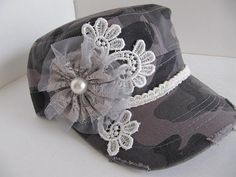 Hey, I found this really awesome Etsy listing at https://www.etsy.com/listing/175147159/gray-camouflage-cadet-hat-military-hat
