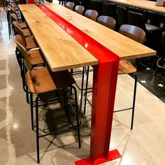 Cheap Patio Furniture, Steel Furniture, Industrial Furniture, Table Furniture, Cool Furniture, Furniture Design, Furniture Movers, Furniture Ideas, Bar Height Kitchen Table