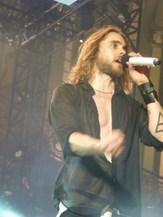 Jared Leto . An amazing voice for an amazing man.