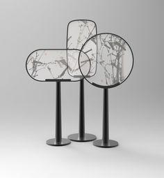 transparent acrylic metal screen luxury zen style floriculture tea ceremony 装饰…
