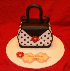 # mini purse cakes | sculpted mini purse cake - Cake Decorating Community - Cakes We Bake