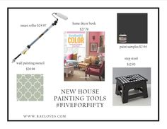 "I added ""New House Painting Supplies 