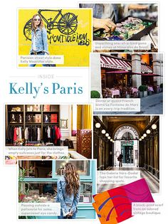 Kelly Wearstler opens up her little black book to Paris.