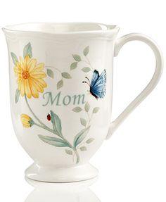 Lenox Dinnerware, Butterfly Meadow Mom Mug