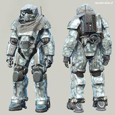 Fallout4: T-49 Power Armor of the Storyteller