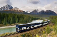Rocky Mountaineer Train Announces New 2019 Packages - Best Train Rides in Canada Train Vacations, Best Vacations, Family Vacations, Rocky Mountains, Rocky Mountaineer Train, Beautiful Places In America, Beautiful Vacation Spots, Discover Canada, Vacation Deals