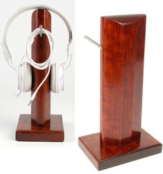 Headphone Stand by UpstateDesignVintage on Etsy