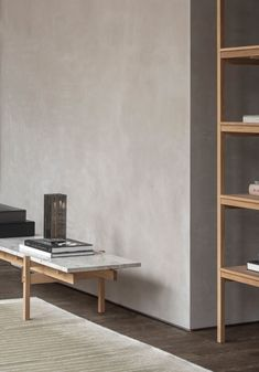 Norm Architects' pared-back furniture, made from natural materials for Japanese furniture manufacturer, Karimoku. Plywood Furniture, Loft Furniture, Design Furniture, Furniture Decor, Furniture Dolly, Furniture Movers, Luxury Furniture, Japanese Furniture, Japanese Interior