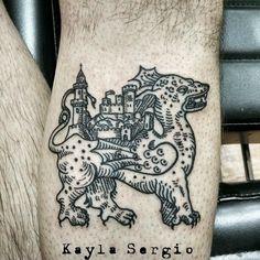 woodcut tattoo - Google Search