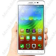 "Movil LENOVO A936 pantalla 6.0"" HD Android 4.4 procesador MTK6752 ocho nucleos 4G LTE 1GB RAM 8GB ROM"