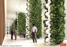 AMPS modular green wall system  Even the BIG architects are on this trend.