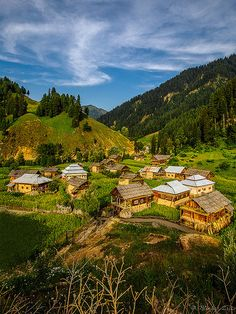 Taobatt is a village and tourist resort in Neelam Valley, Azad Kashmir, Pakistan. It is located 120 miles from Muzaffarabad and 24 miles from Kel. It is the last station in Neelam valley.