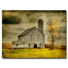 This ready to hang, gallery-wrapped art piece features an old barn on a farm. Lois Bryan describes herself as a 10-year old little kid, cleverly disguised as a 'woman of a certain age'..ordinary, gard