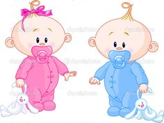 bebes animadas gemelos - Buscar con Google