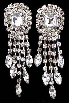 ROMWE   Diamante Tassels Earrings, The Latest Street Fashion #Romwe
