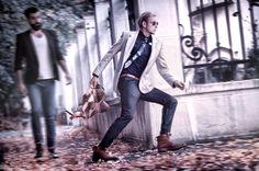 Run run! Street Fashion!