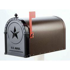 American Heritage Metal Mailbox