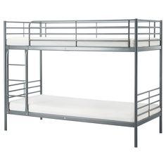 SvÄrta Bunk Bed Frame, Silver Color