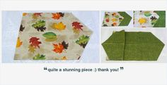 "#AutumnLeaves #TableRunner 42"" L Reversible #homedecor #alexpals #etsygifts #handmade"