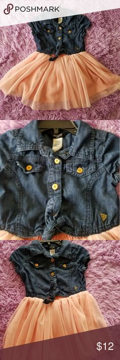 Toddler girl dress Really good condition Guess Dresses Casual