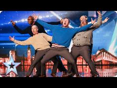 Old Men Dancing Shock Audience And Judges On Britain's Got Talent | The Nighttime Radio Program