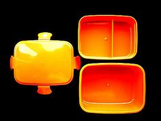 1 Tier Bento Box Orange Closes With Snaps Holds 550ml