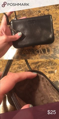 Coach Coin Purse Coach Coin Purse. I'm great condition!  All prices are negotiable but please use the OFFER button in order to make me a different offer. I will do bundles just let me know what you are interested in but NO trades 😀 Coach Bags Clutches & Wristlets