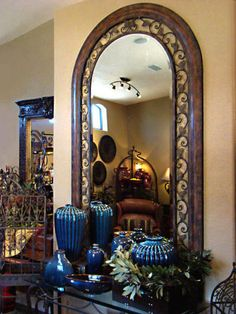 Larch Arch Mirror