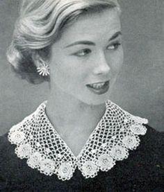 Vintage Irish Crocheted Collar | Free Crochet Patterns