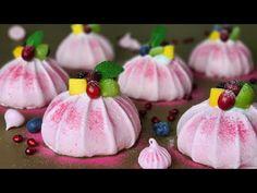 Χωρίς αλεύρι / μίνι μαρέγκα κέικ Pavlova Συνταγή / Mini Meringue Cake Pavlova - YouTube