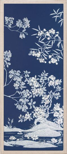 Blue Tree Panels 2 | Natural Curiosities