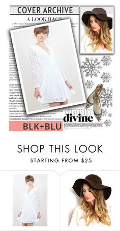 """Simply Divine (BLK+BLU)"" by shambala-379 on Polyvore featuring Balmain and Dsquared2"