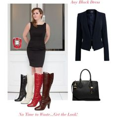 """""""Any Black Dress; The Business Look"""" by anyblackdress on Polyvore"""