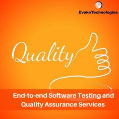 Evoke Technologies offers a diverse range of QA and Software testing services to different industry verticals for multiple platforms. #testing #quality