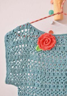 Captivating Crochet a Bodycon Dress Top Ideas. Dazzling Crochet a Bodycon Dress Top Ideas. Pull Crochet, Crochet Shirt, Crochet Cardigan, Crochet Lace, Crochet Stitches, Free Crochet, Crochet Patterns, Crochet Summer, Simple Crochet