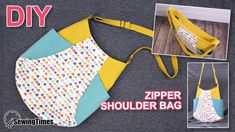 I made tulip shaped ZIPPER SHOULDER BAG today. I've shared a pattern so you can make this. Bag Patterns To Sew, Tote Pattern, Handbag Patterns, Leather Bags Handmade, Handmade Bags, Zipper Crafts, Coin Couture, Over The Shoulder Bags, Diy Tote Bag