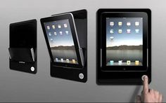 wall mounted tablet dock