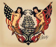 Sailor-Jerry-Tattoo-Art-14-x-11-Photo-Print