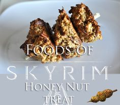 Protein and fiber for the adventurer on the go. From The Elder Scrolls V: Skyrim game. You can't make these in the game so there's no recipe to follow, I just...